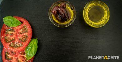 Información nutricional del aceite de oliva